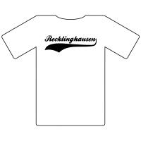 Ruhrgebietshirt Recklinghausen weiß