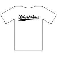 Ruhrgebietshirt Dinslaken weiß