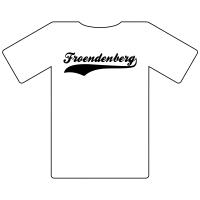 Ruhrgebietshirt Fröndenberg weiß