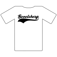 Ruhrgebietshirt Gevelsberg weiß