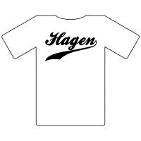 Ruhrgebietshirt Hagen weiß